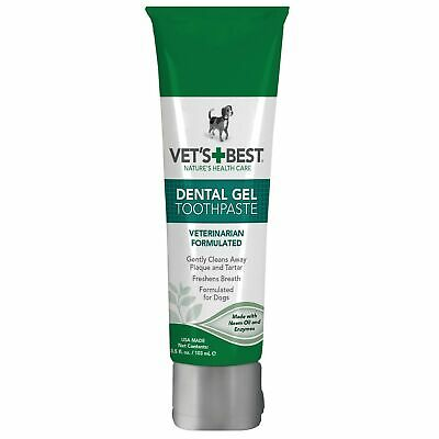 Vet's Best Enzymatic Dog Toothpaste | Teeth Cleaning and Fresh Breath Dental ...