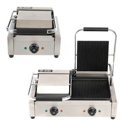 Commercial Kitchen Countertop Grill Gourmet Sandwich Toaster Waffle Maker Tools
