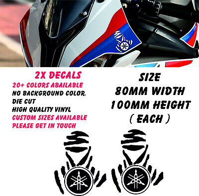 Dakar Suzuki 120mm Decals Stickers  MotoX Enduro Decal All Colours Fox Racing