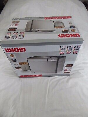 Unold Backmeister 68415 Bread Maker 615Watt (With Eu 2-Pin Plug) - New And Boxed