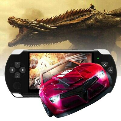 8GB 4.3'' Portable Consoles Handheld PSP Game Console Player Built-in 1000 Games