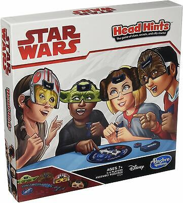 Hasbro Gaming Head Hints Star Wars Edition Clues, Secrets, and Silly Stunts