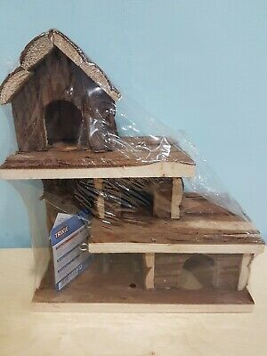 BNWT Trixie Natural Living Tammo House Mouse Gerbil Free P&P