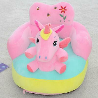 Cute Cartoon Sofa Skin for Infant Baby Seat Sofa Cover Learn to Sit Chair