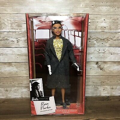 Barbie Signature Inspiring Women ROSA PARKS 11.5in Doll NEW Mattel SHIPS TODAY