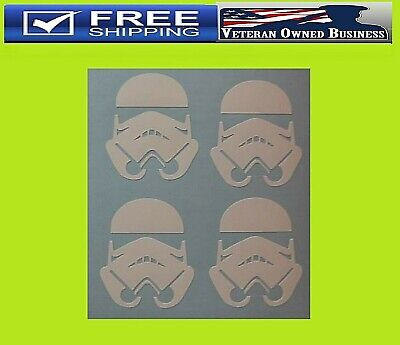 2x MAY THE FORD BE WITH YOU Star Wars Force 4x4 Funny Car Vinyl Sticker Decal