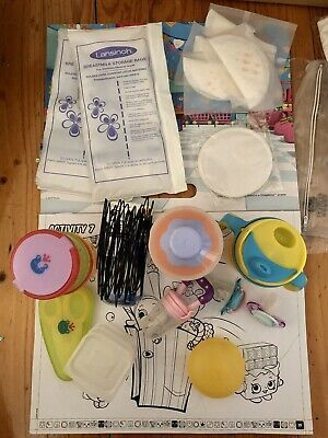 bundle nursing stuffs new breast milk storage bags / Medela breast shields etc.