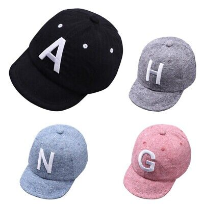 Toddler Kids Baby Boys Girls Baseball Cap Embroidery Cotton Snapback Sun Hat Hot
