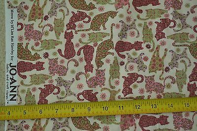 """M6644 VIP 21/"""" Long x 44/"""" Wide Vintage Navy /& Cream Quilter/'s Cotton"""