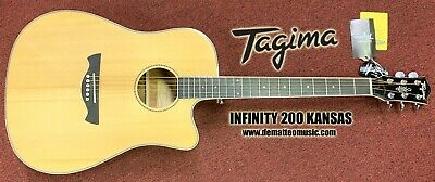 Tagima INFINITY 200 KANSAS 6-String Acoustic Electric Guitar W/Gig Bag