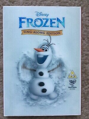 Disney's Classic No. 52 Frozen Sing-along-edition DVD With Holographic Slipcover