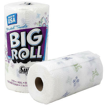 New 216429  Big Roll Super Soft 120-Sheet Paper Towel (24-Pack) Disposable Cheap