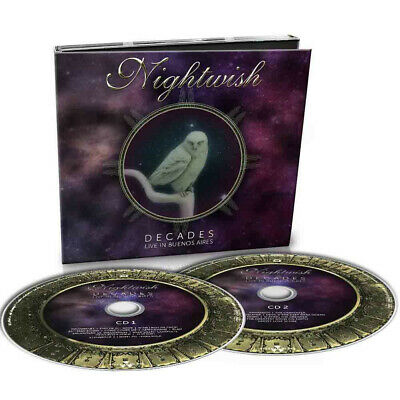 NIGHTWISH Decades: Live In Buenos Aires 2019 DIGIPAK 2CD (Symphonic Power Metal)