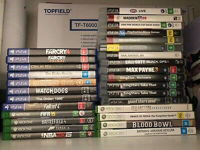 XBOX ONE, PS4, PS3, XBOX 360 VARIOUS GAMES $12 each - FREE POST.
