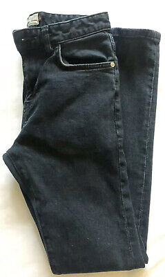 MENS NEXT SUPER SKINNY DARK BLUE Denim Jeans 28W 31 Leg Regular - Very Good Cond