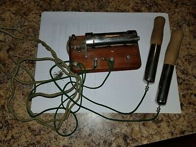 From My Private Collection Early 1800S Antique All Original Shocking Device