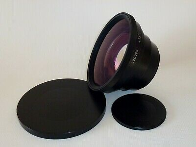 Wide Angle Conversion Soviet KMZ 0.75x Lens for 75mm Lens #890006