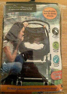 Snooze Shade for infant car seat - never used