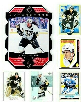 SIDNEY CROSBY Hockey Cards **** PICK YOUR CARD **** From The LIST