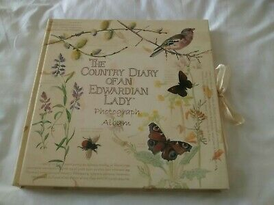 Country Diary of an Edwardian Lady Photo Album - Lovely Gift!