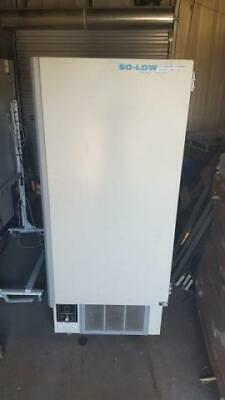 Environmental Equipment So-Low PV85-13 Upright Freezer As Is for Parts