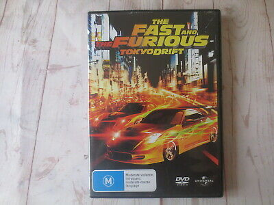 The Fast and The Furious Tokyo Drift DVD R2,4,5 #501