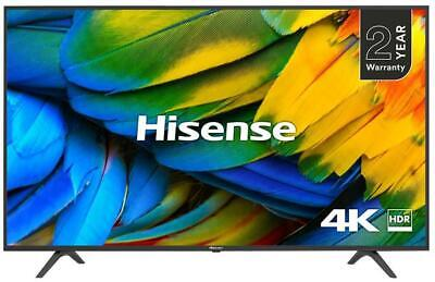"50"" 4K HDR Ultra HD Smart DLED TV with Freeview HD - HISENSE"