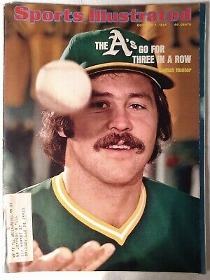 October 7, 1974 Sports Illustrated - Catfish Hunter