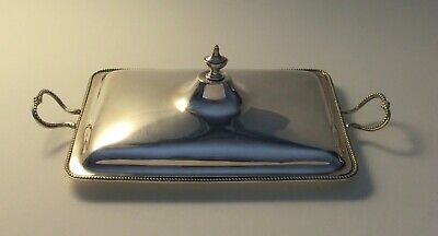 Lovely Georgian Sterling Silver Tomato Dish & Cover - 1781 London