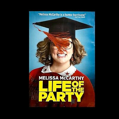 Life of the Party (DVD, 2018)