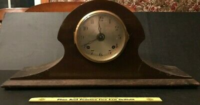 Rare Antique Large 1880's Stowell Ansonia Mantle Clock Boston / New York