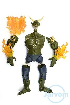 "Marvel Legends 6/"" inch Build a Figure BAF Spider-Man SandMan Individual Parts"