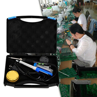 WEP 60W Electric Soldering Iron Kit Solder Welding Rework Tool Stand 6 Tips best