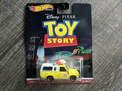 2019 Hot Wheels Premium Pizza Planet Truck Toy Story
