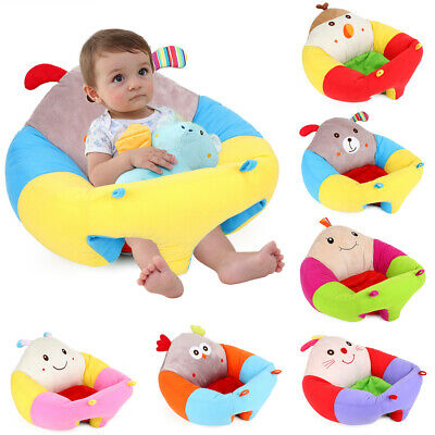 Baby Cute Cotton Support Seat Soft Chair Cushion Sofa Plush Car Seat Pillow