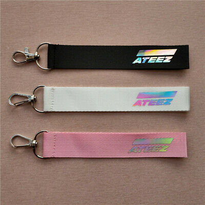 Kpop ATEEZ All To Action Teaser Phone Strap Lanyard Pendant Keychain