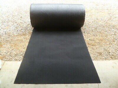 "2 Yards of Premium Heavy Duty Black Automotive Carpet 68"" x 39"" OEM"