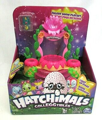 Hatchimals NEW CollEGGtibles Talent Show Playset Light Up Stage
