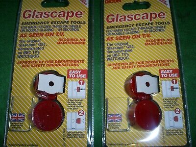 Glascape  Double Glazing Emergency Escape Tools Twinpack