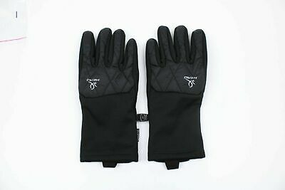 New Head Womens S, M, L Black Touch Screen Running Hybrid Gloves