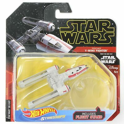 HW Starships Star Wars Resistance Y-Wing Fighter - Red
