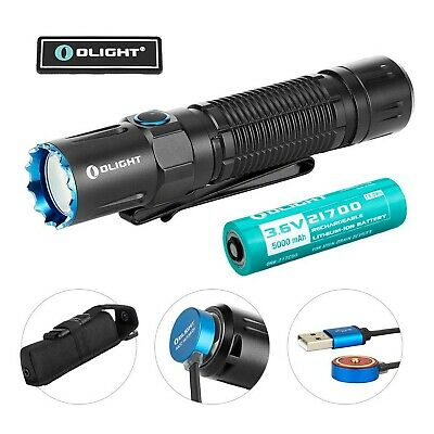 OLIGHT M2R Pro Warrior 1800 Lumens USB Magnetic Rechargeable Dual Switches Ta...