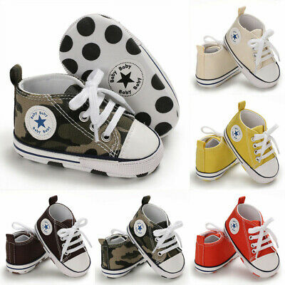 Kids Baby Girl Boy Anti-slip Soft Sole Toddler Infant Sneaker Shoes Prewalkers
