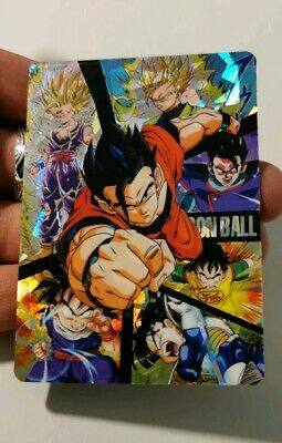 Carte Dragon Ball Z Clear Files Special Gohan history