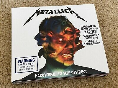 METALLICA HARDWIRED TO SELF-DESTRUCT 2 CD SET brand new sealed