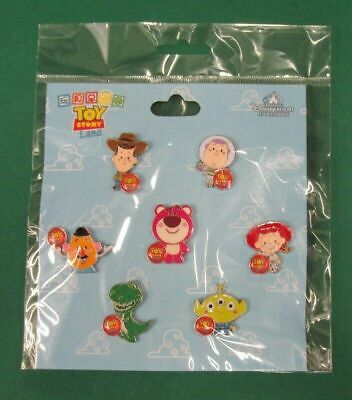 Disney Pin Toy Story Land Booster Set Woody Buzz Jessie Lotso LGM Mr Potato Rex