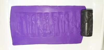 Exceptionally Rare Ancient Sasanian Near eastern Stone Cylinder Seal 651-224 CE