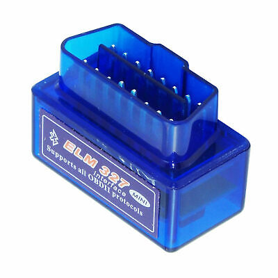 Mini scanner auto Bluetooth OBD2 ELM327 Android coppia Auto Scan Tool IT