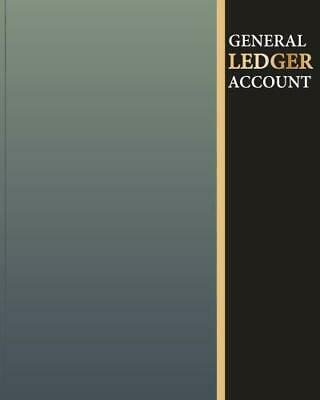 General Ledger Account: Accounting Book Journal Record Notebook With Columns…