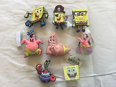 Spongebob Sbsp 3D Nerd Roller Blading Authentic Jibbitz Shoe Charm Fit Crocs